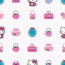 Graham Brown Deco Fun Hello Kitty Pink Multi Childrens Kids Wallpaper (DF73499)