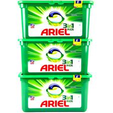 ARIEL 3in1 Pods MEGA-PACK 3x Vollwaschmittel 114 Waschladungen Wäsche Reiniger