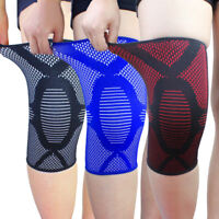 Sports Running Jogging Knee Sleeve Protect Support Brace Pad Pain Relief 34CA