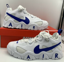 Nike Air Barrage Low Men's White Hyper Blue Sneakers Shoes CD7510 100 New
