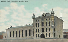 VIntage Postcard-AWyoming State Penitentiary , Ralings, WY, Founded 1901