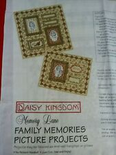 DAISY KINGDOM Family Memory Lane fabric Project Panel wall hanging quilt VINTAGE