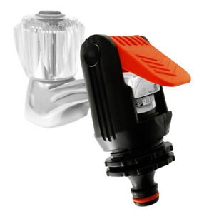 UNIVERSAL HOSE PIPECONNECTOR- Water Tap To Garden Mixer Home Kitchen Tap Adapter