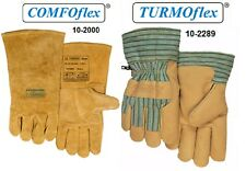 "Weldas Welding Gloves 10-2000 Premium Grade A Leather Gloves XX Large 14/"" Long"