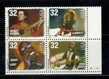 3212-15 Folk Musicians Plate Block Mint/nh Free Shipping