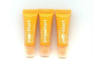 Lot Of 3 Clinique Pep-Start Eye Cream ~ 0.24 oz ~
