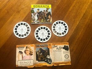 BONANZA View-Master Reels with story booklet and brochure