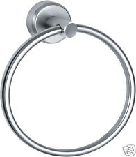 Face/Hand Towel Holder Round 185mm Glossy 316 Marine Stainless Steel (Best Qlty)