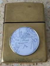 More details for original zippo brass lighter -customised for frodo / shire / lord of the rings