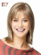 LMSW155 short blonde mixed cos fashion hair wigs for straight women hair wig