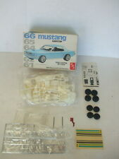 AMT 1/25 scale 66 Mustang Hardtop (White Version)