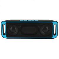 Wireless Bluetooth Mini Portable Speaker Stereo Subwoofer TF USB Radio Sound Box