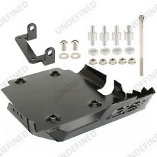 Black Engine Guard Protector Bash Skid Plate For BMW F800GS F650GS F700GS 08-17