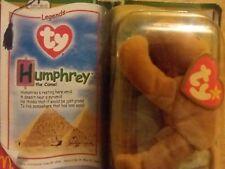 Humphrey The Camel Ty Teenie Beanie Baby Legend McDonalds Rare