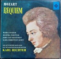 Mozart - Requiem, RICHTER, STADER, TOEPPER, Telefunken SLT 43059 STEREO