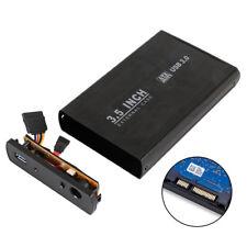 3.5 SATA Aluminium USB 3.0 External Hard Drive Enclosure Caddy Case Computer 02