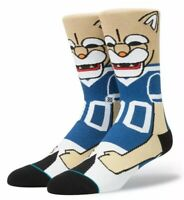 BYU Cougars Cosmo Mascot Stance Socks Small Men's 3-5.5 College Brigham Young