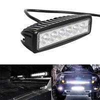 18W 6inch 6LED Work Light Bar Spot Lamp Offroad Driving Fog 4WD ATV SUV Truck md