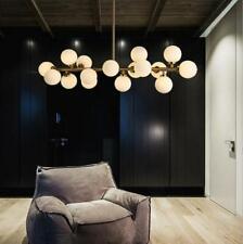 16-Light Modern Dna Glass Ball Chandeliers Lighting Ceiling Pendant Lamps Decor