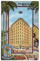 Vintage Postcard Hotel Royal Palm Havana Cuba 1937  K2