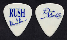 Rush Alex Lifeson Signature White/Blue Guitar Pick - 1989 Presto Tour