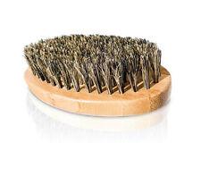 Powerful Beard Brush - Handmade Solid Wood No Snag 100% Natural Boar Bristle New