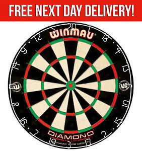 Winmau Diamond Plus Bristle Dartboard - Tournament Quality - Full Size Dartboard