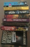 Lot Of 10 Historical Paperback Books FICTION Mix RANDOM Mystery Crime Selfhelp