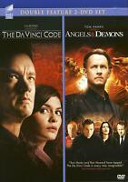 The DaVinci Code & Angels & Demons (DVD DBL Feature) Brand New sealed ships