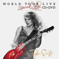 Taylor Swift Speak Now World Tour Live CD + DVD Deluxe/Target Edition 2011