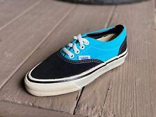 ODS VTG Vans Shoes Made in USA Size 1.5 New Black Teal