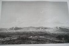 NAPOLEON BATAILLE D'ECKMUHL GRAVURE 1838 VERSAILLES R1156 IN FOLIO