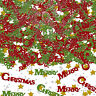 Merry Christmas Table Confetti Sprinkles Christmas Party Table Decorations