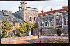 English Postcard ~ Outer Court, Manchester College ~ A.R. Quinton