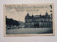 Ansichtskarte Heidelberg, Stadthalle mit Jubiläumsplatz, Echtfoto Feldpost 1917