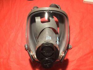 3M Medium (6800DIN) Full Face Respirator - DIN Thread ....USED