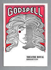 """Stephen Schwartz """"GODSPELL"""" Susie Blake / Jess Conrad 1973 Brighton Playbill"""