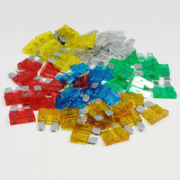 60 Piece Standard Blade Fuse Assorted Kit Mixed 5a 10a 15a 20a 25a 30a ATO Car