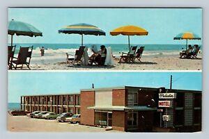 Myrtle Beach SC, The Paladin Motel, Advertisement Chrome South Carolina Postcard