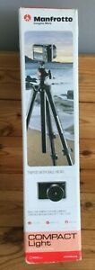 Manfrotto Compact Light Tripod with Case in Original Box 1.5 Kg