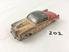 RARE VINTAGE DINKY TOYS #169 STUDEBAKER GOLDEN HAWK DIECAST CAR RED/TAN 1959