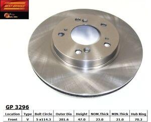 Disc Brake Rotor-Type R Front Best Brake GP3296