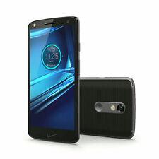 MOTOROLA DROID TURBO 2 XT1585 4G 32GB LTE BLACK VERIZON UNLOCKD 200GB SANDISK SD
