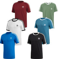 Adidas Mens T Shirt TShirt Crew Top California Embroided T-Shirt Short Sleeve