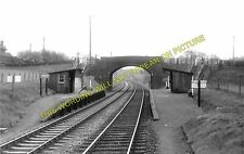 Coxbank Railway Station Photo. Audlem - Adderley. Nantwich to Market Drayton (2)