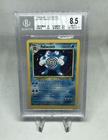 2000 Pokemon Base Set 2 Unlimited #15 Poliwrath Holo R 15/130 BGS 8.5 NM-MT+
