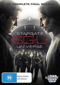 Stargate UNIVERSE Season 2 FINAL : NEW DVD