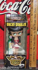 FUNKO WACKY WOBBLER BETTY BOOP BIKER BETTY  BOBBLEHEAD LIMITED EDITION