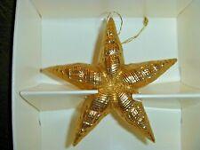 Margaret Furlong Morning Star in Gold ornament