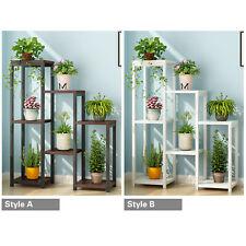 7 Tier Heavy Duty Garden Plant Stand Shelf Indoor Flower Bonsai Display Rack ~UK